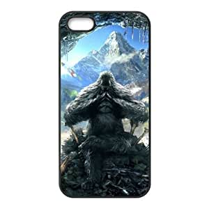 far cry 4 yeti iPhone 5 5s Cell Phone Case Black DA03-220859