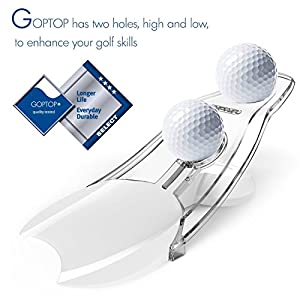 UCHO Golf Putting Training Tool Putt Practice Aid Pressure Putt Trainer Perfect Your Golf Putting Skill