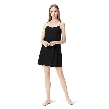 Pijama GAODUZI Sling Femenino Verano Vestido Sexy Verano Hielo Algodón Camisón de Algodón Mujeres Embarazadas Sueltas