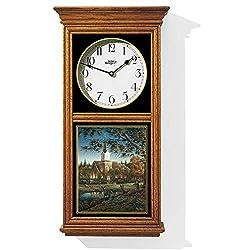 Sunday Morning Regulator Clock by Terry Redlin