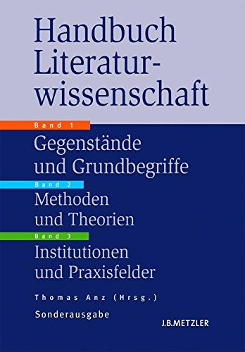 Handbuch Literaturwissenschaft, 3 Bde.
