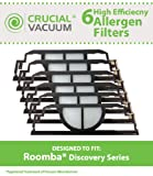 roomba 4910 - 6 Replacements for Roomba iRobot Discovery Filters, Compatible With Part # 4910, by Think Crucial