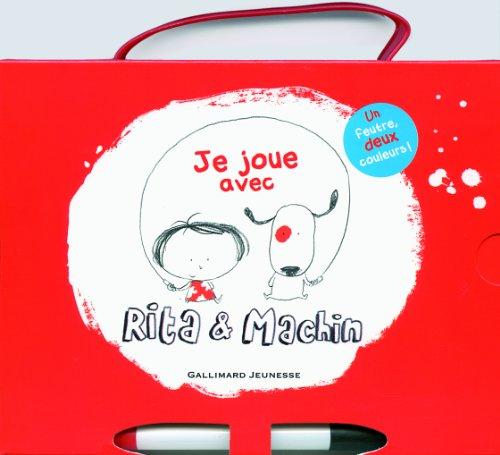 Je joue avec Rita et Machin: 16 fiches effacables (French Edition)