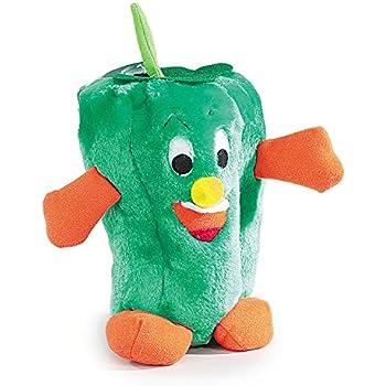 "Amazon.com : Zanies Giggling Veggie Dog Toys, 9"" Pepper"
