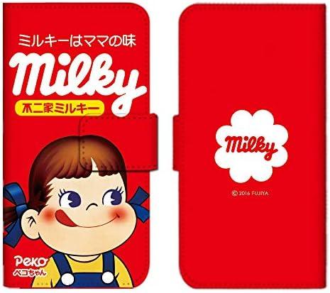 Xperia Ace SO-02L ケース 手帳型 スマホケース カードケース 収納ポケット カードポケット エクスペリア カバー/ペコちゃん 可愛い キャラクター