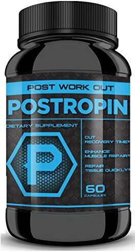 POSTROPIN – Substantially Cut Recovery time, Boost Muscle Repair to The MAX with MAX Potency Combine with Maxtropin and Testropin for Ultimate Results