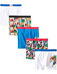 Boys' Superhero 5 Pack Boxer Brief