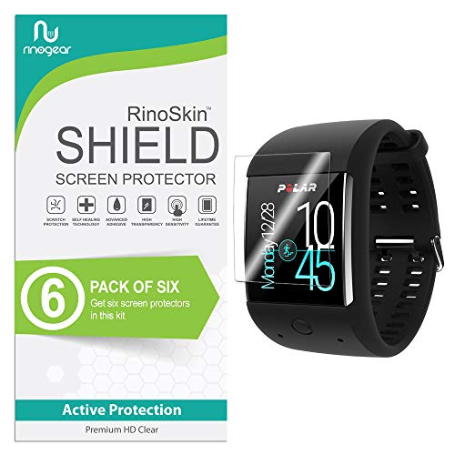 RinoGear Polar M600 Screen Protector  Full Coverage Flexible