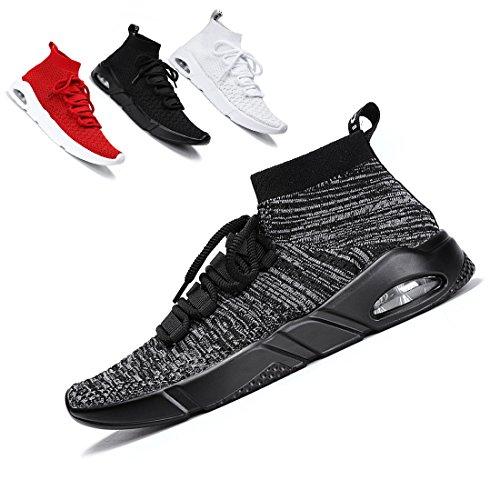 Fashion Sneaker Sports Running Shoes Shoes Casual Women Walking Shoes for Grey Lightweight Ceyue Unisex Men Athletic n5YzXwqx