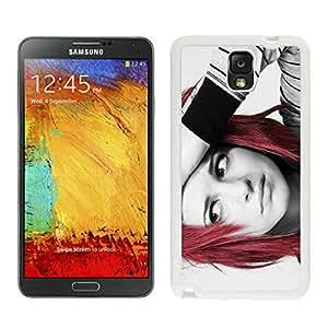 hayley williams 02 White Hard Plastic Samsung Galaxy Note 3 N900A N900V N900P N900T Phone Cover Case