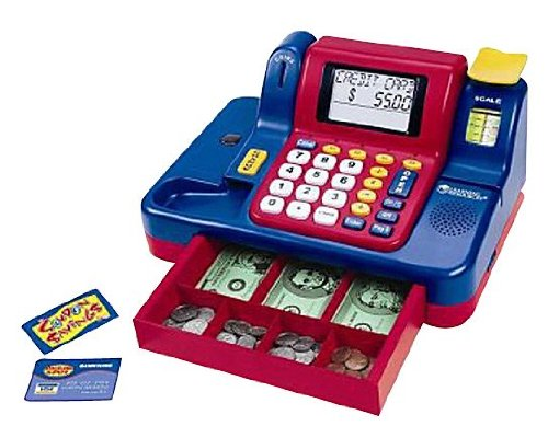 LEARNING RESOURCES TEACHING CASH REGISTER (Set of 3) by Learning Resources