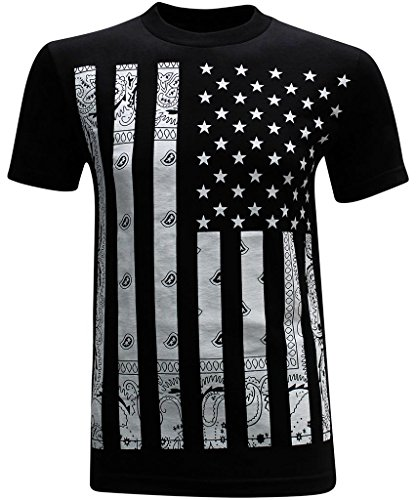California Republic Bandana Flag White Men s T-Shirt - XL