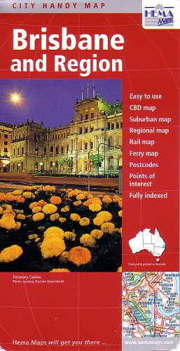 Brisbane Deluxe (Australian City Maps)