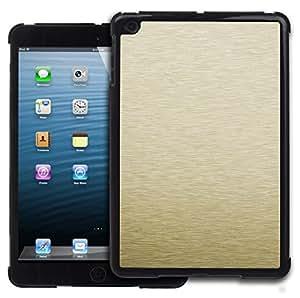 Graphic4You GOLD BRUSH TEXTURES Patrón Carcasa Funda Rigida para APPLE iPad Mini 1 / 2 / 3