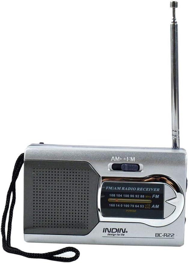 QKa Radio Am FM portátil con Altavoz, marcación de Sonido ...