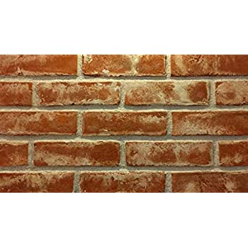 Box Includes 10.79 sqft Modular WHITEWASHED Thin Brick