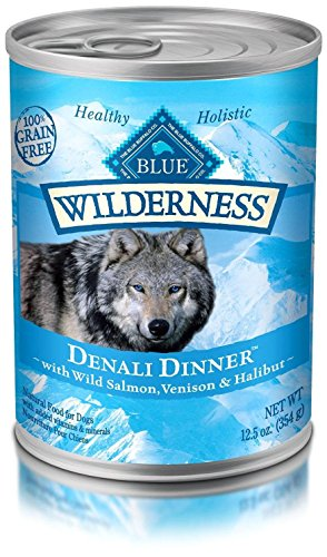 Blue Buffalo Salmon Dinner (Blue Buffalo BLUE Wilderness Denali Dinner 12.5oz)