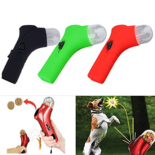 [Dog Cat Training Fun Snacks Feeder Food Incentive Outdoor Training Tool Pet Treat] (Shock Treatment Costumes)