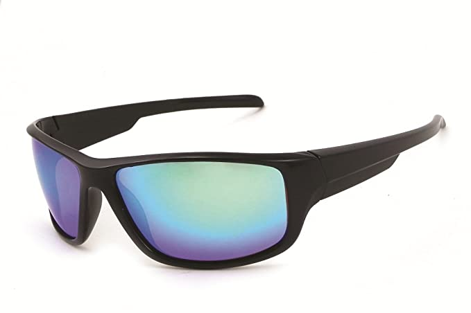f686e678ecd6 Image Unavailable. Image not available for. Colour: Chili's Eye Gear  AMBERJACK Polarized Sport L71503 Sunglasses