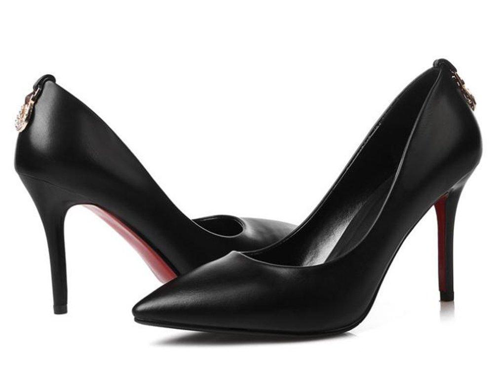 YTTY YTTY YTTY Flache Schuhe In Einem Niedrigen Schwarz 34 4b64b2