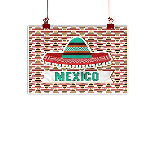Anyangeight Simple Life Minimalist Mexican,Cultural Ethnic Hat Costume 48