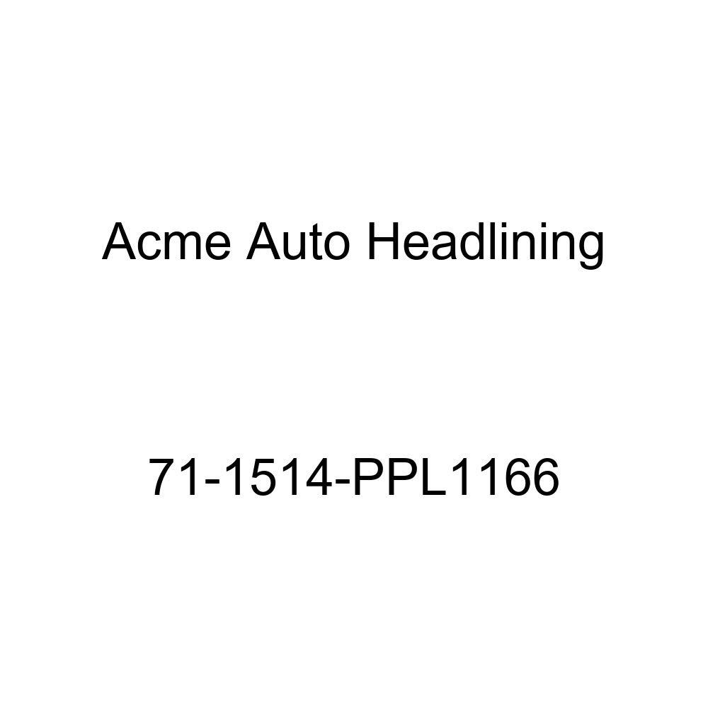 1971 Pontiac Bonneville and Catalina 4 Door Hardtop Acme Auto Headlining 71-1514-PPL1166 Sandalwood Replacement Headliner 5 Bow