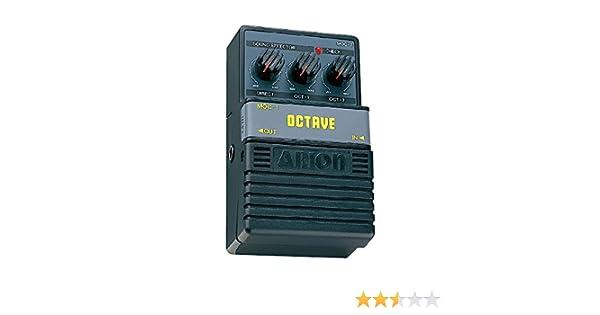 Arion 797212 - Pedal octavador para guitarra (batería alcalina ...