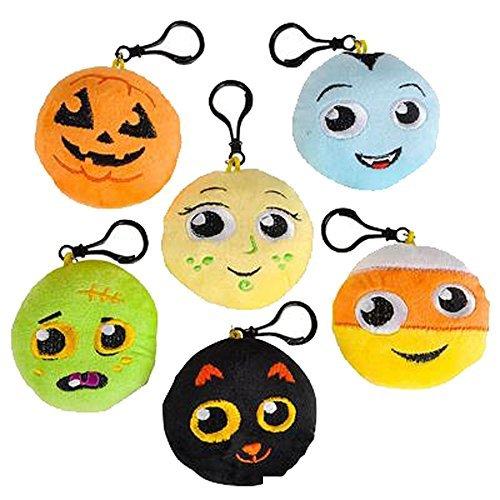 Halloween Emoticon Clip On Party Favor