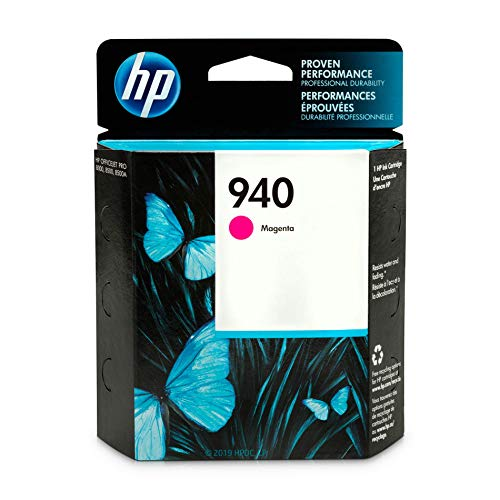 HP 940 Magenta Ink Cartridge (C4904AN) for HP Officejet Pro 8000 8500 DISCONTINUED BY MANUFACTURER