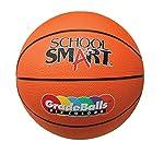 School Smart Gradeballs Rubber Basketball - Junior 27 inch - Orange