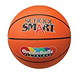 School Smart Gradeballs Rubber Basketball - Junior 27 inch - Orange