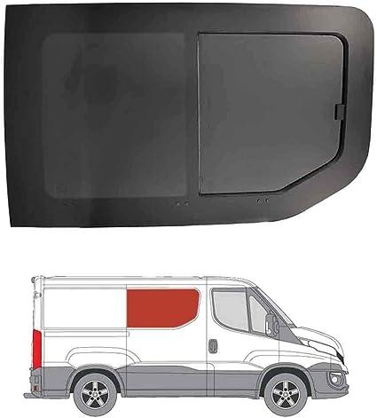 Mano derecha, tintado oscuro apertura ventana para Panel lateral OPP. Puerta Corredera Iveco Daily (2014 On): Amazon.es: Coche y moto