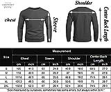 COOFANDYMen's Fleece Crewneck Sweatshirt Soft