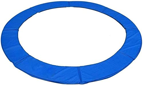 Dirty Hand Tools Exacme 16-Foot Round Trampoline Frame Spring Cover Safety Pad Replacement, Blue