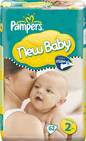 Pampers Nappies Size 6 Pack Of 62 Nappies