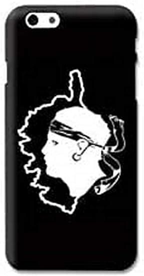 Coque pour iphone 7 / 8 / SE (2020) Corse - Corsica Noir