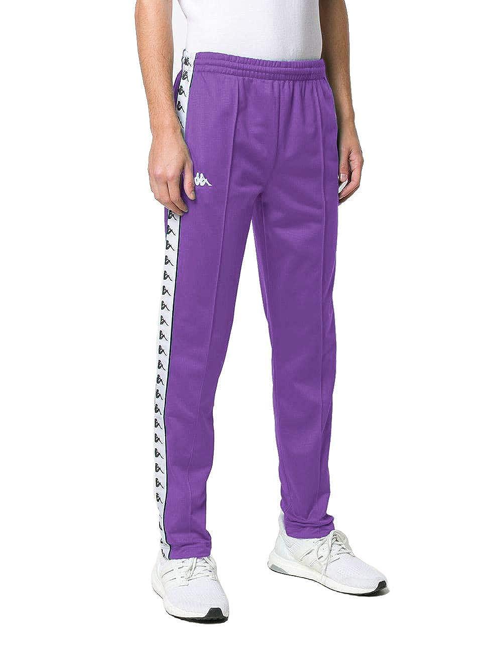 457c971461 Kappa Banda ASTORIAZZ Side Logo Slim Track Pants, Violet ($70-Now $59) at  Amazon Men's Clothing store: