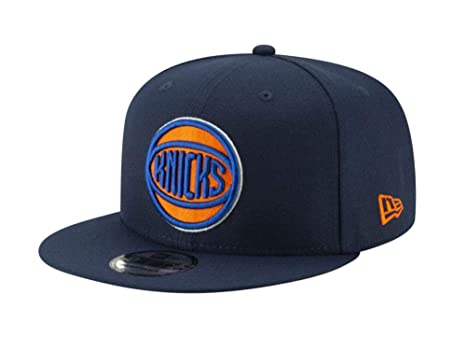 d8f35650c09 Image Unavailable. Image not available for. Color  New York Knicks 2018  City Edition Adjustable Snapback Hat Navy