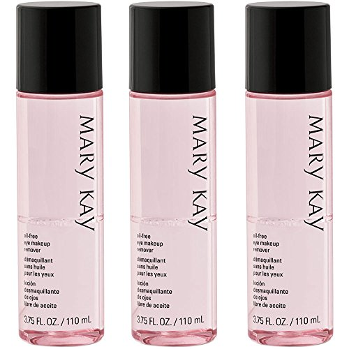 Mary Kay Oil-Free Eye Makeup Remover 3.75 fl. oz - 3 Pack
