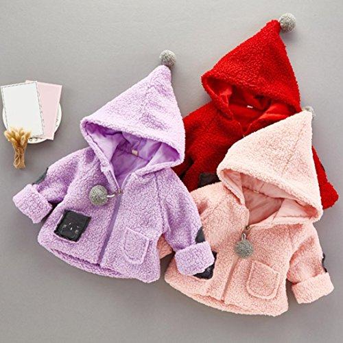 Manteau à capuche Fille Hiver Automne Chaud Ultra Épais Coton ... cb42866a16a