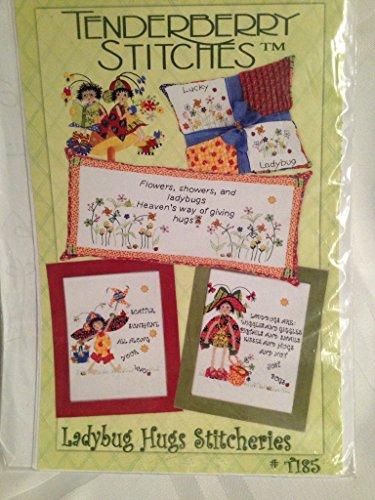(Ladybug Hugs Stitcheries applique pictures - Tenderberry)