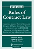 img - for Rules of Contract Law 2011 Statutory Supplement book / textbook / text book