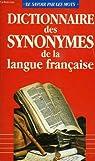 Dictionnaire des synonymes de la langue francaise par Lafaye