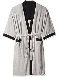 Men s Waffle-Weave Kimono Robe d6ad80ad1