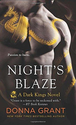 Night's Blaze: A Dragon Romance (Dark Kings)