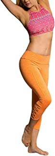 product image for Onzie Yoga Weave Capri 289 Dusk Heather