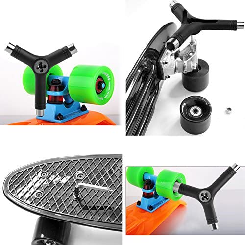 TRIXES Roller Longboard Tool with Hex Key Skateboard