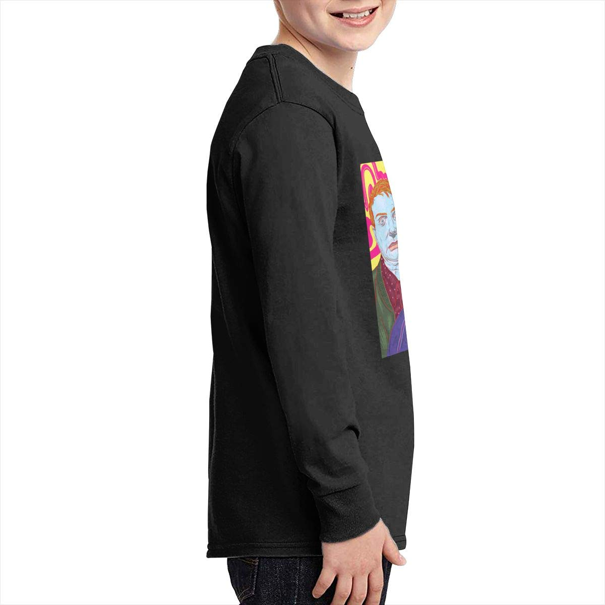 RhteGui Mac Demarco Boys /& Girls Junior Vintage Long Sleeve T-Shirt Black