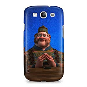 Frozen Oaken Hard Plastic Snap-On Case Cover For Samsung Galaxy S3