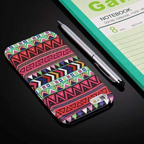 Phone Taschen & Schalen Für iPhone 6 Plus & 6s Plus IMD Kunstfertigkeit Paste Haut Muster Schutzmaßnahmen Leder Tasche ( SKU : IP6P1531F )